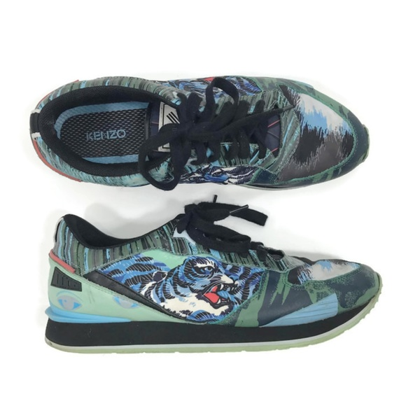 d11e78c7e Kenzo Other - Kenzo Flying Tiger K-run Running Shoes Sneakers